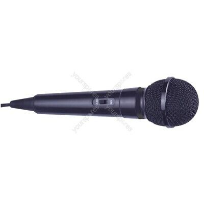 Mr Entertainer Dynamic Handheld Karaoke Microphone with 3.5mm Plug - Colour Blac