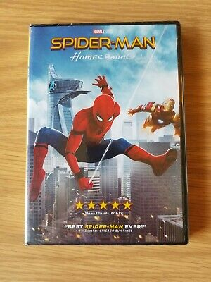 Spider-Man: Homecoming (DVD, 2017) NEW! FREE SHIPPING!