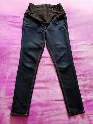 867316d24 George maternity Size 10 over bump skinny jeggings/jeans - Dark blue