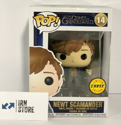 Funko POP (Animaux) Fantastic Beasts NEWT SCAMANDER N°14 CHASE LIMITED EDITION