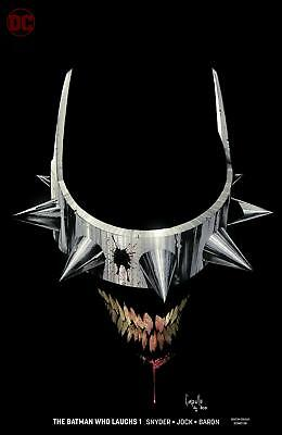Batman Who Laughs #1 Greg Capullo Variant Dc 2018 Stock Image