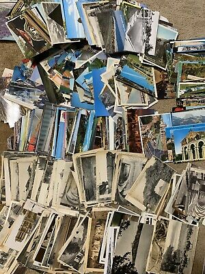Lot of 50 World Antique & Vintage Postcards,1900s-1970s. Used And Unused !!