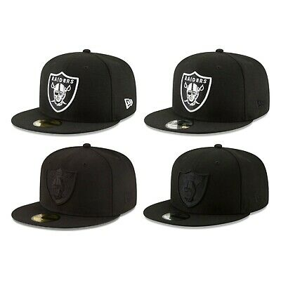 cheaper d6bd8 7fc57 Oakland Raiders NFL New Era 59FIFTY 9FIFTY Fitted Snapback - 5950 950 Cap  Hat