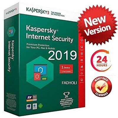 Kaspersky Internet Security 2019 PC 1 Years - Full License Key
