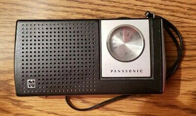 RETRO VINTAGE C@@L!~c.1975 Panasonic Model R-1159 Radio-WORKS! WITH BATTERIES!!