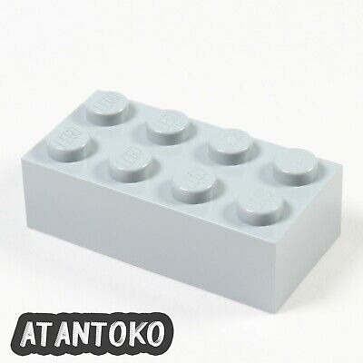 25 to 500 Pieces LEGO Light Bluish Gray Brick 2x4