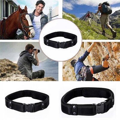 """2"""" Outdoor Utility Tactical Police Security Combat Gear Nylon Duty Belt"""