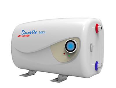 Duoetto MK2 Dual Voltage 12v/240v Electric 10L Storage Water Heater  Caravan RV