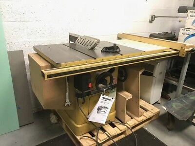 POWERMATIC 66 - 5 HP - 3PH 208-230v THREE PHASE - CABINET TABLE SAW - USA  MADE