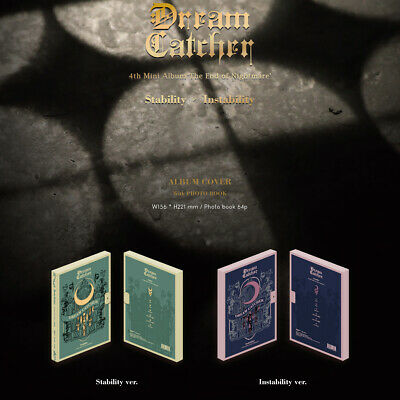 DREAM CATCHER - THE END OF NIGHTMARE (4th Mini Album) Instability Stability Ver.