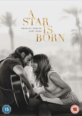 A Star Is Born DVD (2019) Bradley Cooper ***NEW***