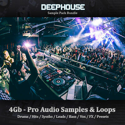 DEEP HOUSE - Huge 5Gb, Loops, Drum Hits, Synth, Bass, Leads, Sample-Pack Bundle