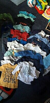 Big bundle of baby Boys Clothes 12 To 18 Months, trousers, tops, jackets. Large