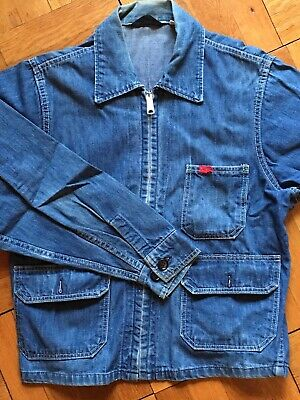 Vintage 1970's Big Smith Denim Jacket Size 44