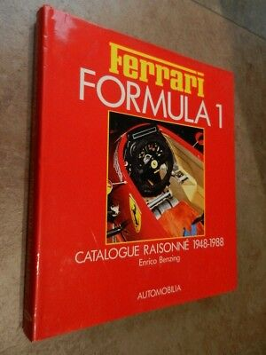 Ferrari Formula 1 - Catalogue Raisonne' 1948-1988 - Automobilia - Cartonato