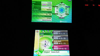 Pokemon Shiny Celebi Ultrasonne Ultramond Ultra Sun Moon