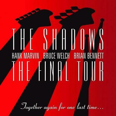 The Shadows ~ NEW 2CD THE FINAL TOUR ~  BEST OF / GREATEST HITS LIVE IN CONCERT
