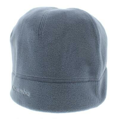 5162eb043 COLUMBIA GRAY FLEECE Thermal Coil Winter Beanie Hat L/XL BHFO 1168 ...