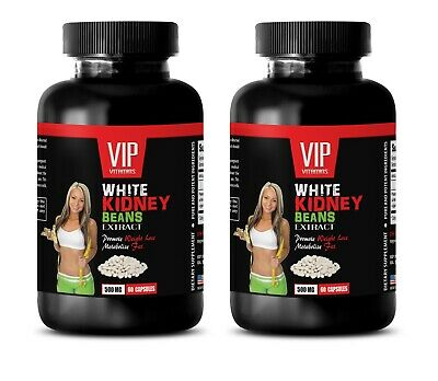 metabolism booster - White Kidney Beans 500mg - antioxidant weight loss 2B