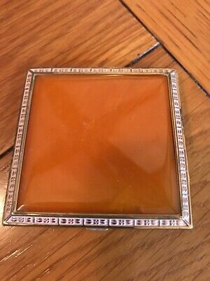 Vintage Rex Fifth Avenue New York Square Compact