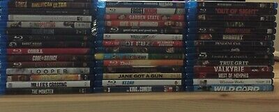 You Choose Five: Blu-ray & Blu-ray/DVD Combos Horror Action Comedy Drama Lot