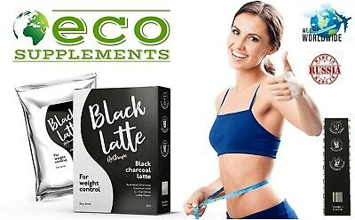 Black Latte Dry Drink Black Charcoal Latte- For weight control-  from HENDEL LLC