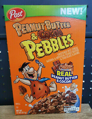 1 x Post Peanut Butter & Cocoa Pebbles Cereal 311g USA