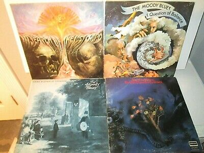 THE MOODY BLUES ~ Original 1968 Vinyl Lp ~ In Search Of The Lost