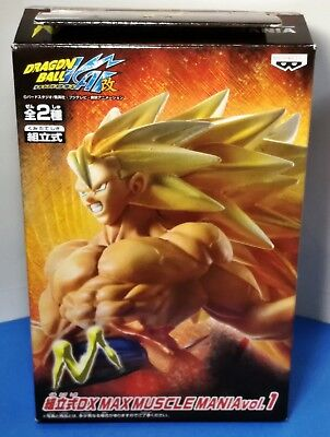 Dragon Ball Super Saiyan3 Goku Muscle mania figure Banpresto
