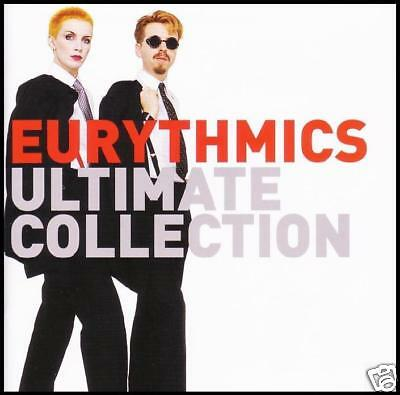 EURYTHMICS - ULTIMATE COLLECTION CD ~ ANNIE LENNOX~DAVE STEWART ~ 80's POP *NEW