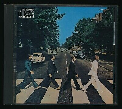 Beatles RARE ORIG 1983 JAPANESE ' ABBEY ROAD ' CD NM ! WORLDS FIRST BEATLES CD !