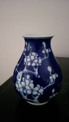Genuine Chinese antiuqe Porcelain Blue & White Vase