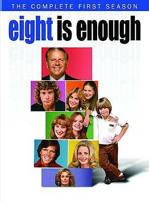 Eight Is Enough: The Complete First Season (DVD, 2012, 2-Disc Set) Free Ship!