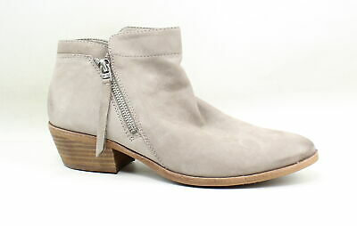 00971460fceaec SAM EDELMAN WOMENS Packer Putty Leather Ankle Boots Size 8.5 (166468 ...
