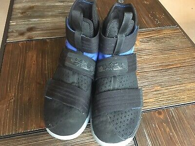 1043fdde3e6 Mens Nike Lebron Soldier 10 X SFG Sneakers Midnight Blue 844378-444 used