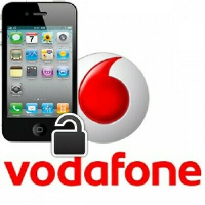 vodafone unlocking service for Iphone 4 4s 5 5s 5c SE 6 6s 6s+ 7 7+ 8 8+ X
