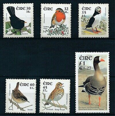 [H11804] Ireland 2001 : Birds - Good Set of Very Fine MNH Stamps - $25