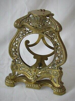 Nicely Cast Brass French Strut Clock Case