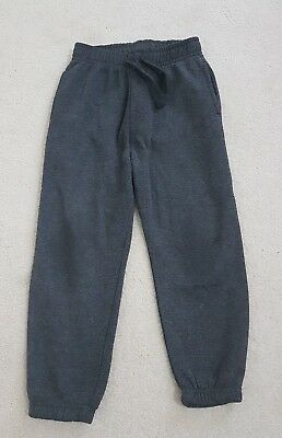 Boys 5-6 Years Grey Tracksuit Bottoms With Pockets - Primark