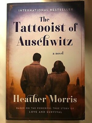 The Tattooist of Auschwitz Heather Morris New paperback Deckle Edge special