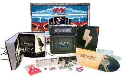 Ac Dc Backtracks Deluxe Collector Box Amp LTD Original 2009 Made in Usa New