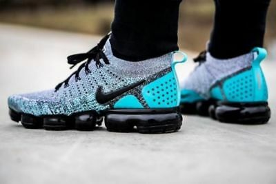 db38ee8762 Nike Air VaporMax FLYKNIT 2 Dusty Cactus Hyper Jade 942842-104 Size 9.5