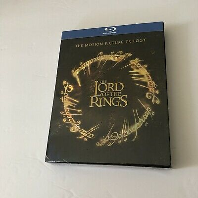 The Lord of the Rings Trilogy Blu-ray Disc 2009 6 Disc Set Deluxe Set-New Sealed