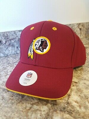 NFL WASHINGTON REDSKINS Ladies Women s Adjustable Strap Military Hat ... c7f804214c6a
