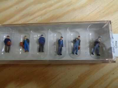 Tt = 1:120 Preiser 75051 Industry and Hafenarbeiter. Figures. Orig. Packaging
