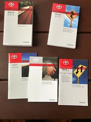 2016 Toyota Rav4 Owners Manual With Navigation Oem Free Shipping