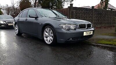 2003 BMW 730d Sports Auto 4dr SPARES OR REPAIR