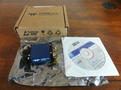 Teledyne DALSA Model CR-GM00-M1600  CCD Camera In Box w/ Software