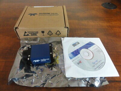 Teledyne DALSA Model CR-GENO-M1600  CCD Camera In Box w/ Software