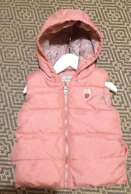Clothes, Shoes & Accessories Baby 12-18 Month Gilet Pink